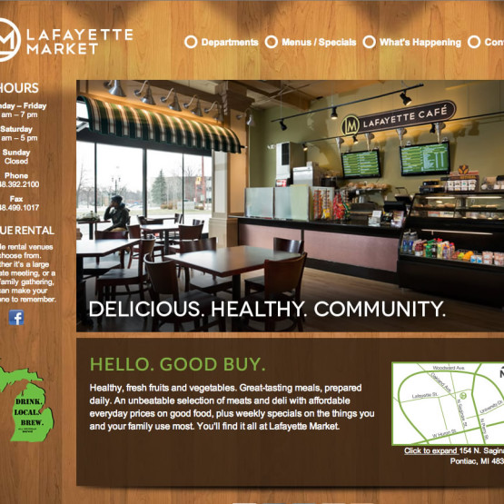 Lafayette Homepage