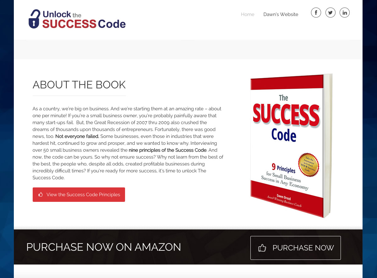 Unlock Success Book Info