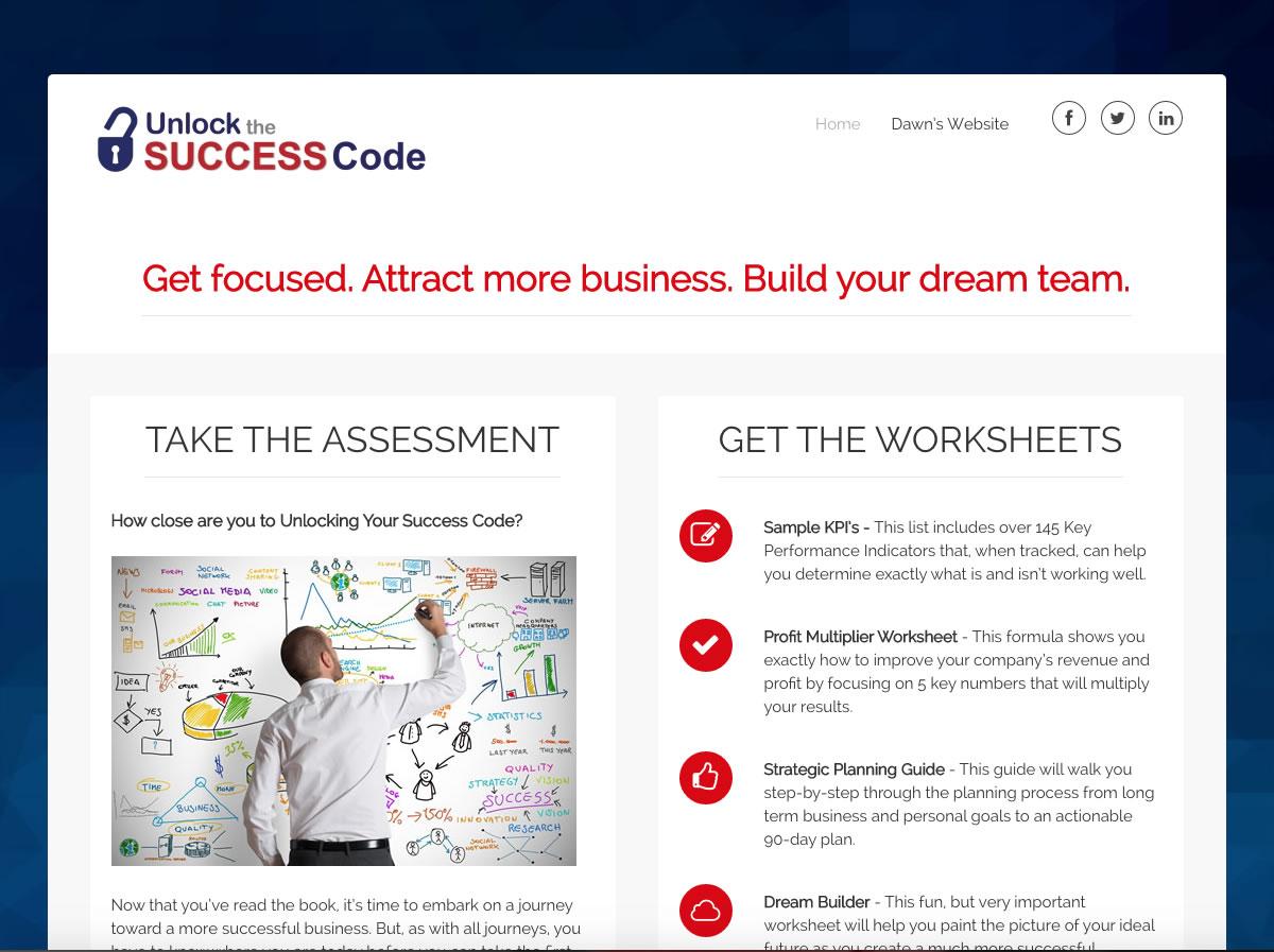 Unlock Success Code Home